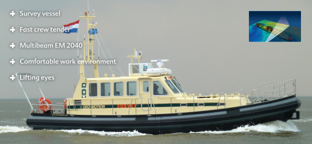 Geo Motion survey vessel