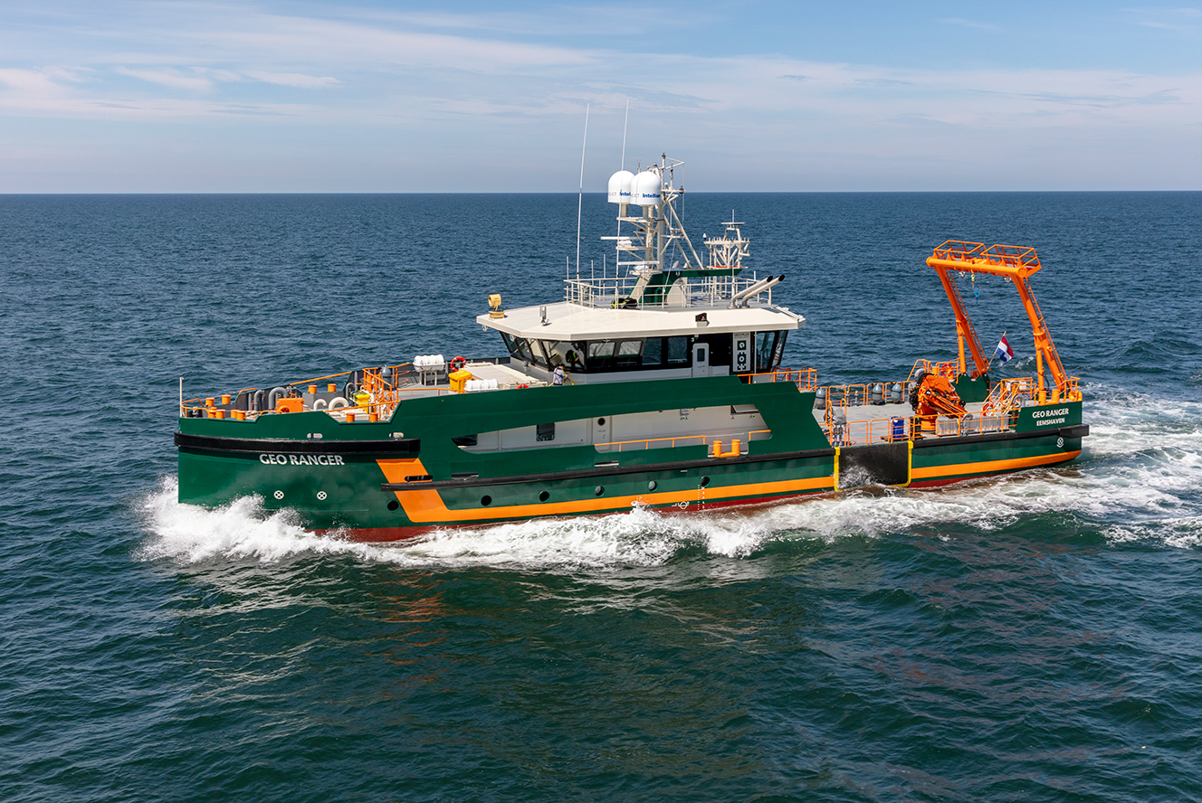 Geo Ranger - Advanced Survey Vessel Geo Plus