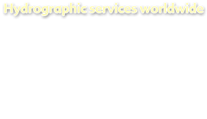 Hydrographic services worldwide
