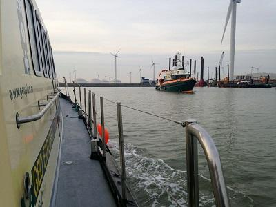 Geo Focus at the Gemini Offshore Windpark - on & offshore cable installation